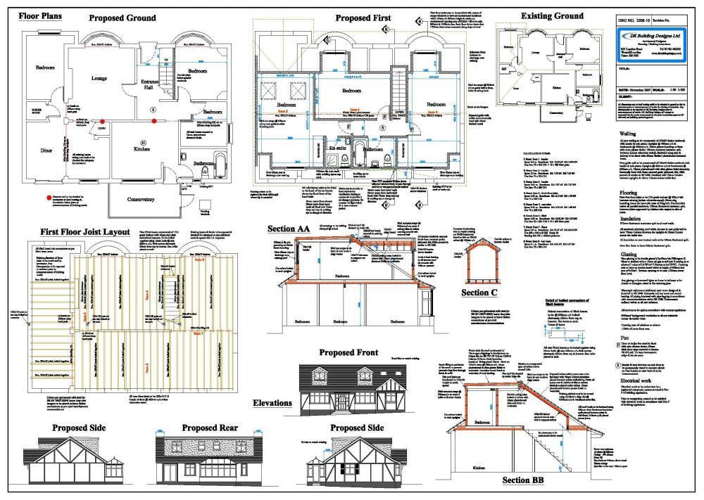DK Building Designs Ltd Loft Conversion Examples